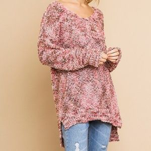 🌸Multi color soft Knit Pullover